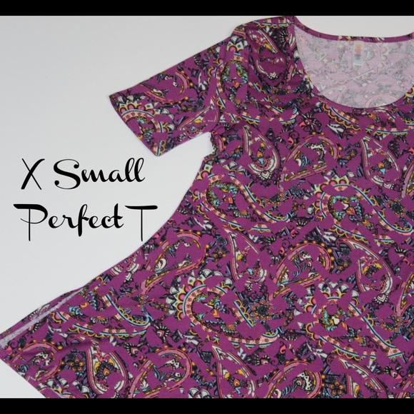 LuLaRoe Tops - LuLaRoe XS Perfect T